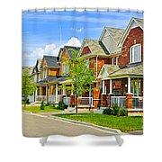 Suburban Homes Shower Curtain