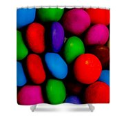 Sweet Abstract Shower Curtain