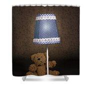 Teddy Bear Shower Curtain
