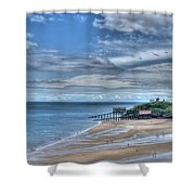 Tenby Pembrokeshire Shower Curtain