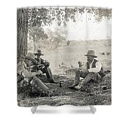 Texas: Cowboys, C1908 Shower Curtain