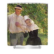 The Convalescent Shower Curtain