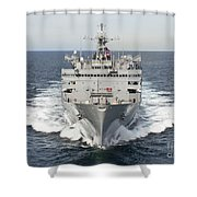The Military Sealift Command Fast Shower Curtain