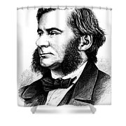 Thomas Huxley, English Biologist Shower Curtain