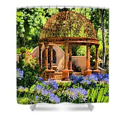 Tuscan Garden Shower Curtain