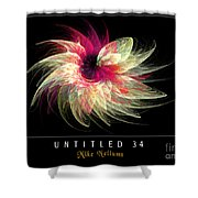 Untitled 34 Shower Curtain