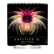 Untitled 35 Shower Curtain