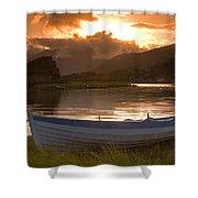 Upper Lake, Killarney National Park Shower Curtain