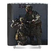 U.s. Air Force Joint Terminal Attack Shower Curtain