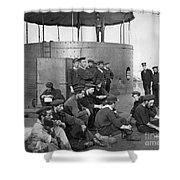 U.s.s. Monitor, 1862 Shower Curtain