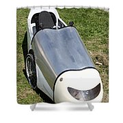 Velomobile Shower Curtain