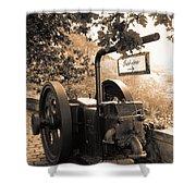 Vintage Machinery Shower Curtain
