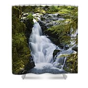 Waterfalls Of Sol Duc River, Olympic Shower Curtain
