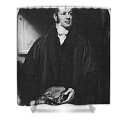 William Buckland, English Paleontologist Shower Curtain