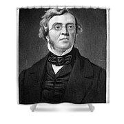 William M. Thackeray Shower Curtain