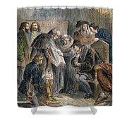 William Tyndale (1492?-1536) Shower Curtain