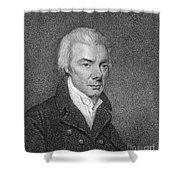 William Wilberforce Shower Curtain by Granger