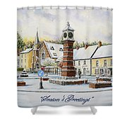Winter In Twyn Square Shower Curtain