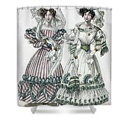 Womens Fashion, 1828 Shower Curtain