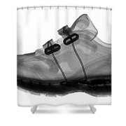 X-ray Of Childs Shoe Shower Curtain
