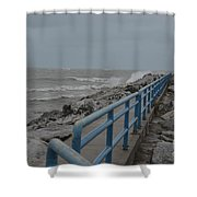 Hurricane Sandy Shower Curtain