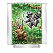 20 - Jennings State Forest - Sword Play Shower Curtain