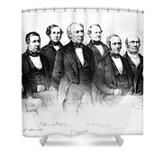 Zachary Taylor (1784-1850) Shower Curtain