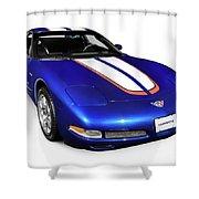 2004 Chevrolet Corvette C5 Shower Curtain