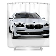 2010 Bmw 760li Individual Luxury Sedan Shower Curtain