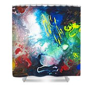 2010 Untitled Series #11 Shower Curtain