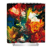 2010 Untitled Series #5 Shower Curtain