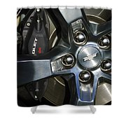 2011 Chevrolet Camaro Wheel Shower Curtain