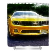 2012 Chevrolet Camaro Rs Shower Curtain