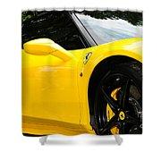 2012 Ferrari 458 Spider  Shower Curtain
