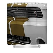 2012 Ford Mustang Shelby American 50 Years 1962-2012 Shower Curtain