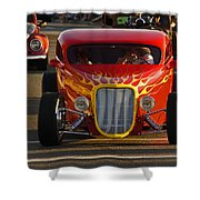 2012 Grants Pass Cruise - Hot Rod Rules Shower Curtain