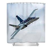 2012 Rcaf Hornet Demo Shower Curtain
