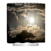 2012 Sunset October 26 Shower Curtain
