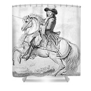 Louis Xiv (1638-1715) Shower Curtain
