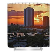 21- Phil Foster Park- Singer Island Shower Curtain