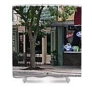 210 Pine Street Shower Curtain