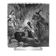Pocahontas (1595?-1617) Shower Curtain