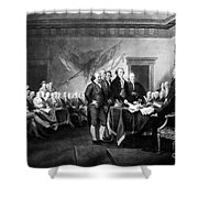 Declaration Of Independence Shower Curtain