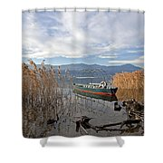 Lake Maggiore Shower Curtain