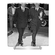 Dwight D. Eisenhower Shower Curtain by Granger