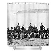 Civil War: Black Troops Shower Curtain