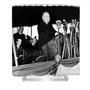Franklin D. Roosevelt Shower Curtain