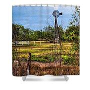 281 Family Farm Shower Curtain
