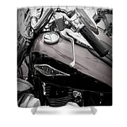 3 - Harley Davidson Series Shower Curtain