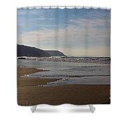 Porthtowan Cornwall Shower Curtain